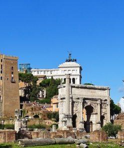 הקולוסיאום והפורום הרומאי