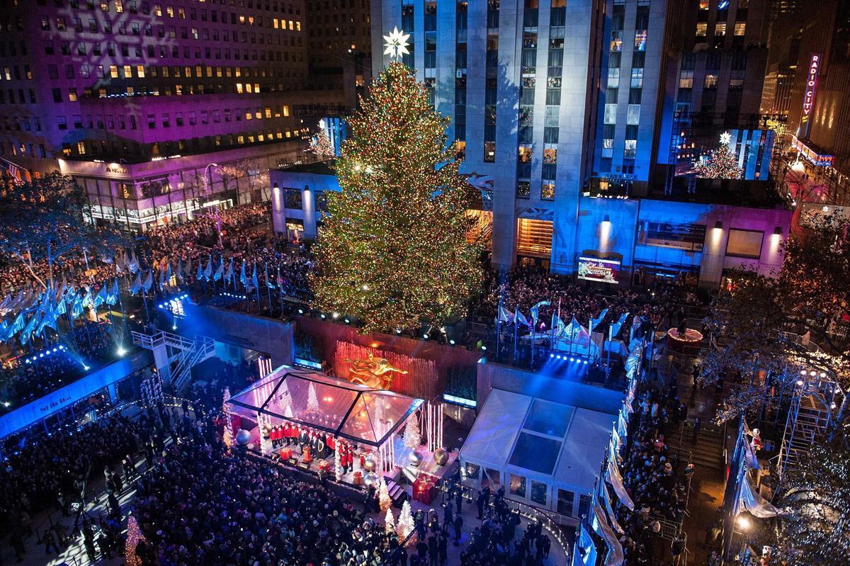 Rockefeller Center Holiday Christmas Tree Lighting 2018 Gala - New ...